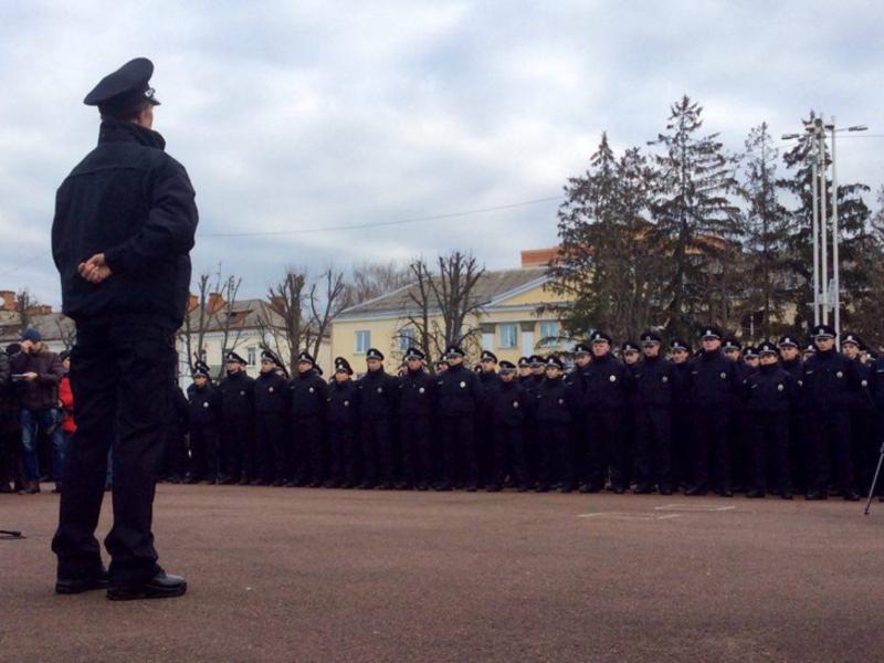 96 поліцейських, звільнені «за негативом»