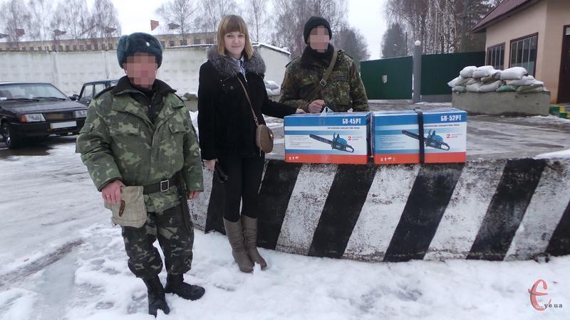 Для солдатів військової частини А4239 було придбано дві бензопили