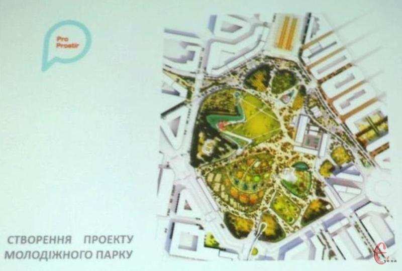 Молодіжний парк у Хмельницькому з'явиться ще не скоро