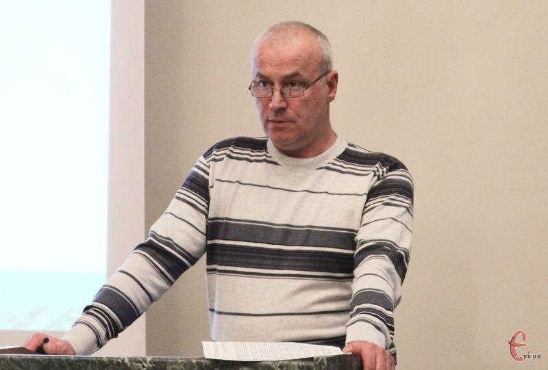 Володимир Івашко очолює управліня комунального майна з вересня 2006 року. Вже з 29 січня 2016-го він йде з посади