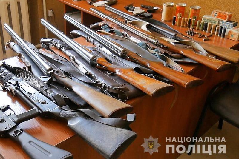 На Хмельниччині закінчився місячник добровільної здачі зброї, який тривав з 1 по 31 жовтня