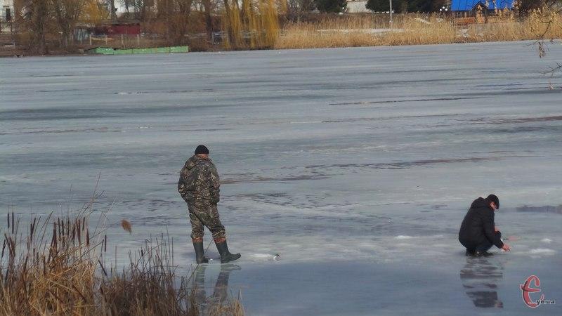 На Хмельниччині почав танути лід на водоймах