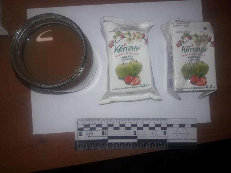 В СІЗО намагалися передати посилку з «підозрілими» фруктовими соками