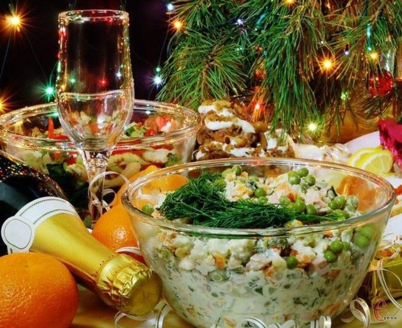 Ціна салату «Олів'є» зросла, щонайменше, на 10 гривень.