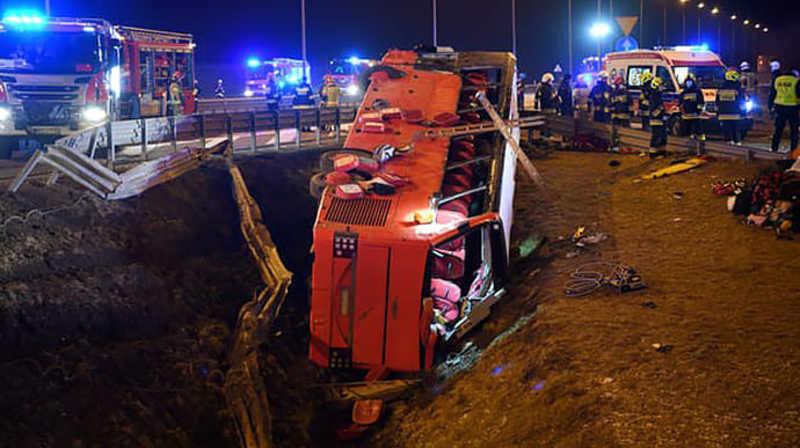 Учора рідним повідомили, що чоловік - серед загиблих пасажирів автобуса, який зазнав аварії в Польщі