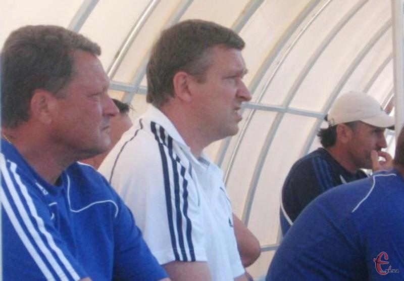 Востаннє Мирон Маркевич (перший ліворуч) офіційно був на стадіоні Поділля в липні 2008 року, коли разом з харківським Металістом провів на СК Поділлі товариський матч проти хмельницької команди