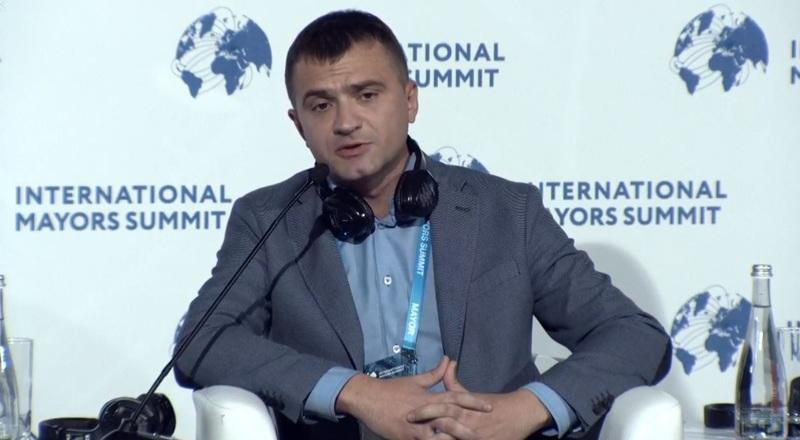 Мер Хмельницького виступив із доповіддю щодо утилізації твердих побутових відходів