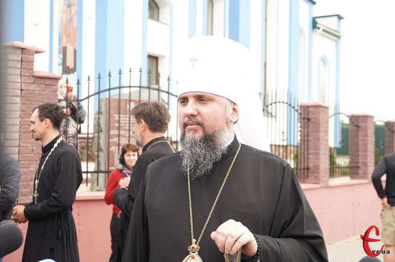 Митрополит Епіфаній приїхав у Хмельницький