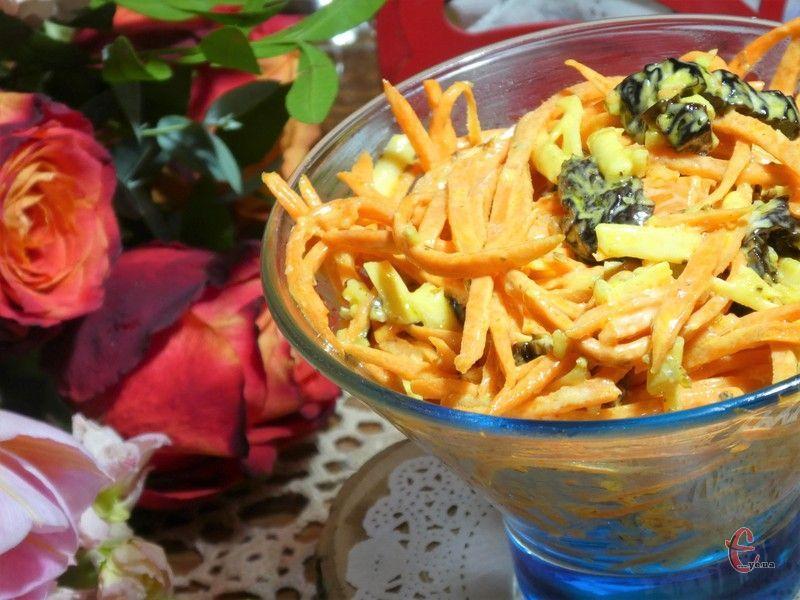 Це один із найсмачніших салатів із морквою, який стане окрасою столу і в будні, і в свята.