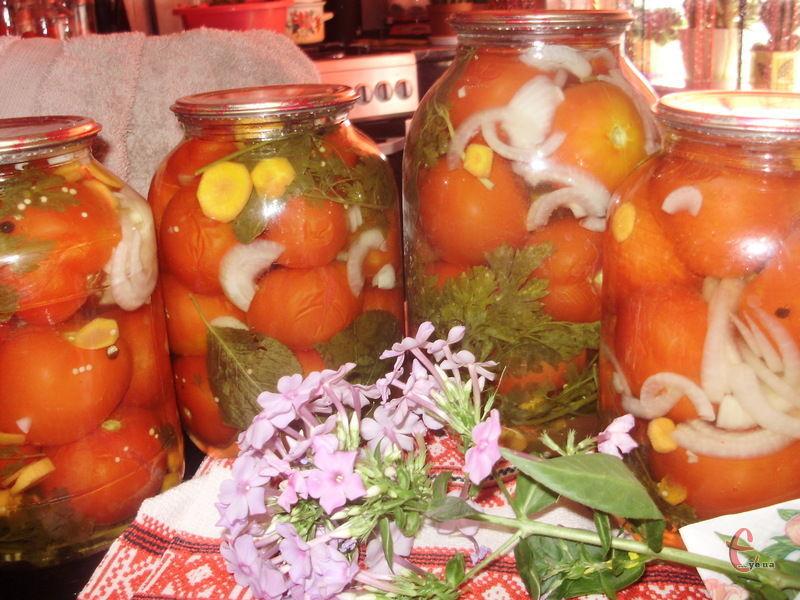 Заготовивши помідори на зиму за цим рецептом, ви забудете про всі інші!