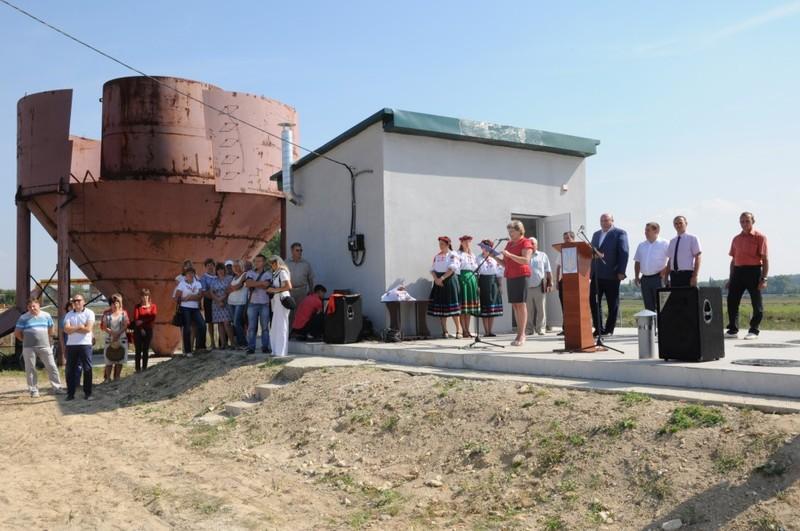 Будівельні роботи завершені і очисні споруди почали працювати
