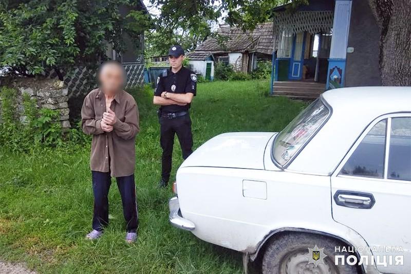 На Хмельниччині поліцейські повернули 75-річному пенсіонеру викрадений автомобіль