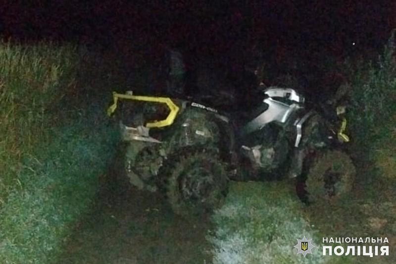 На Деражнянщині слідчі розслідують обставини загибелі квадроцикліста