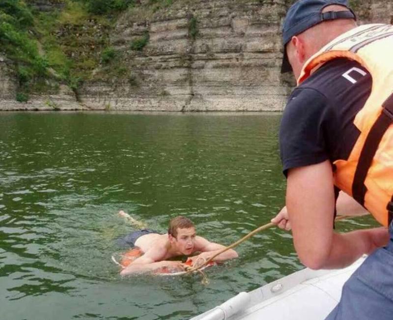 Надзвичайники врятували рибалку, який тонув у річні Дністер