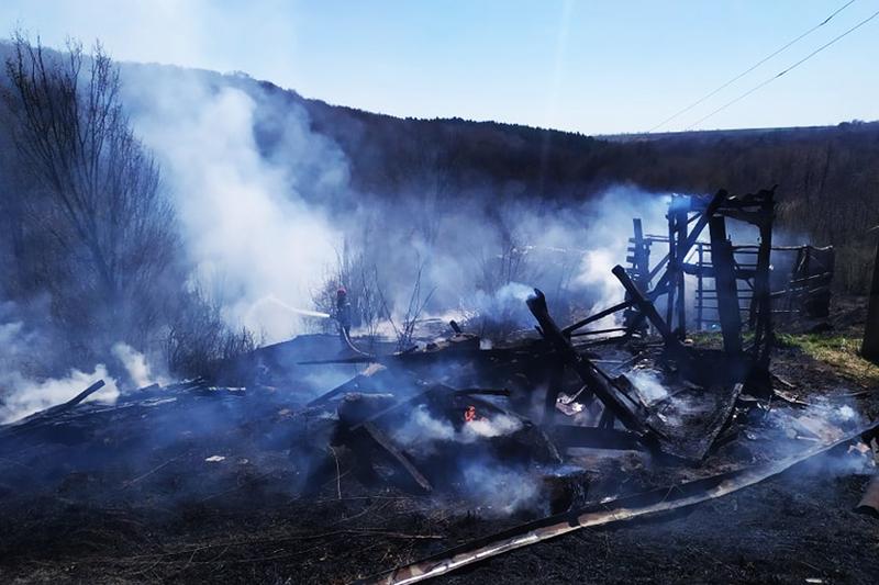Вогонь швидко поширювався через суху і вітряну погоду
