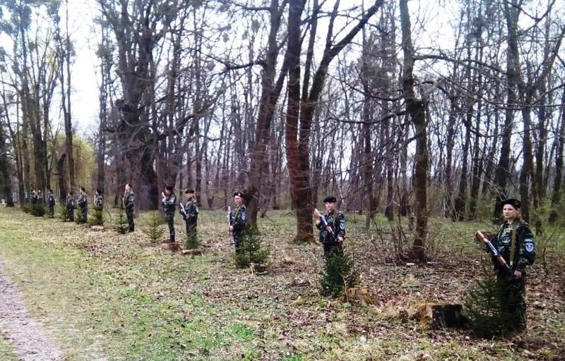 Алею висадили на території старовинного Малієвецького парку