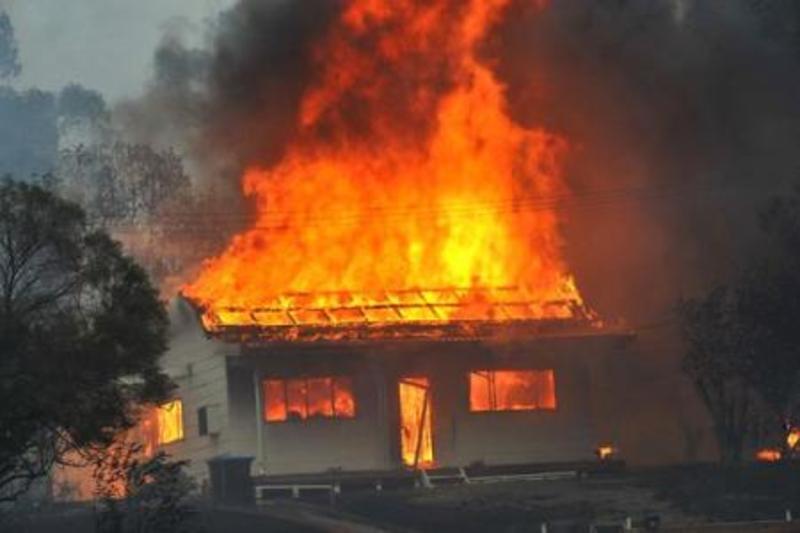 У пожежі загинув чоловік