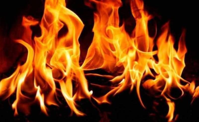 В районну центрі впродовж години сталося дві пожежі