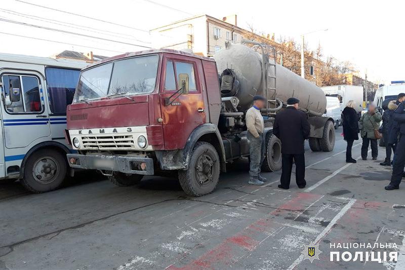 Аварія сталася у Кам'янці-Подільському на проспекті Грушевського