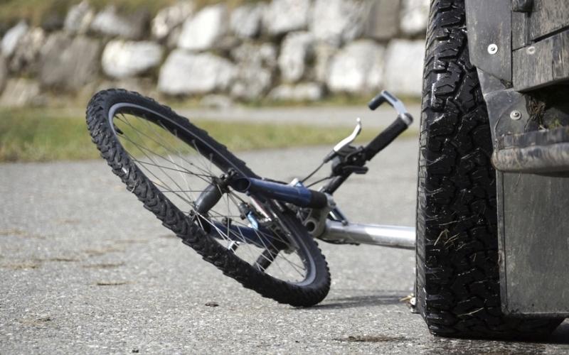 Постраждалий велосипедист у лікарні