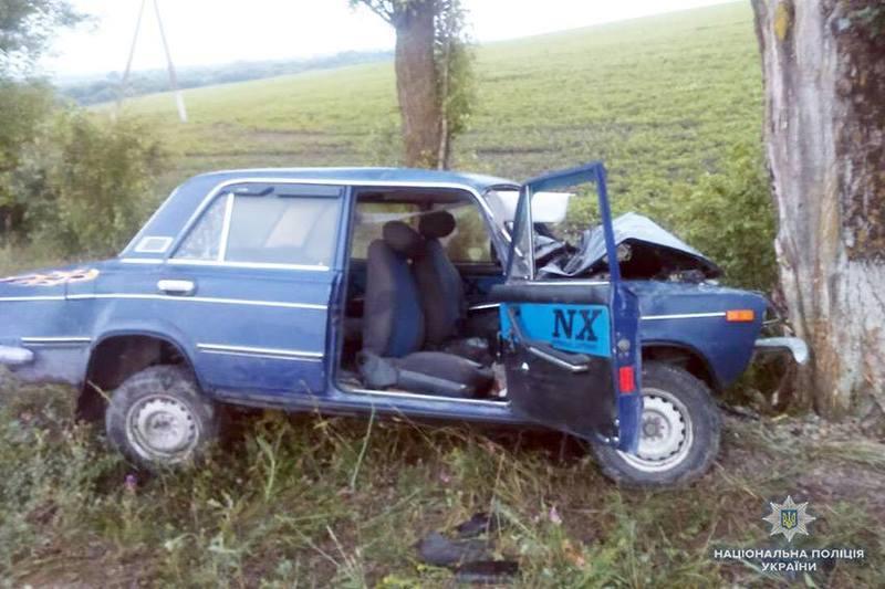 49-річний житель райцентру Волочиськ на автомобілі «ВАЗ 2103» не впорався з керуванням