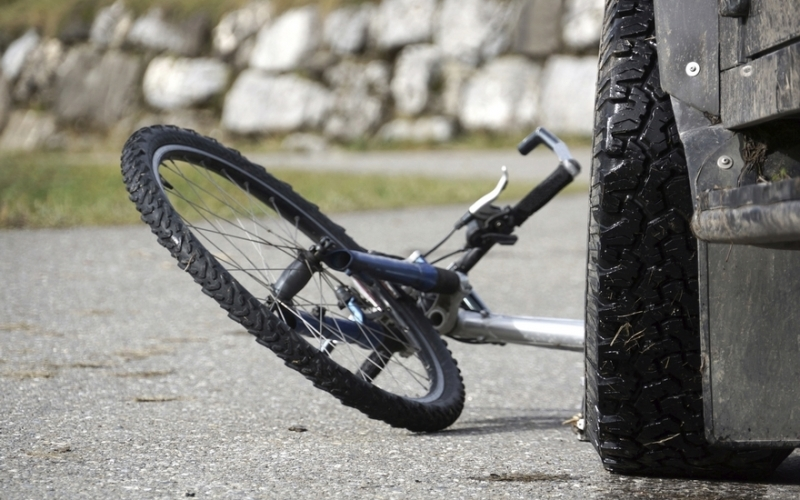 У ДТП потрапив велосипедист