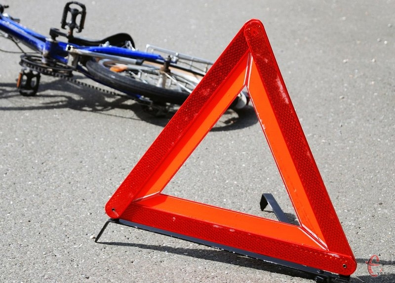 Велосипедист потрапив у ДТП