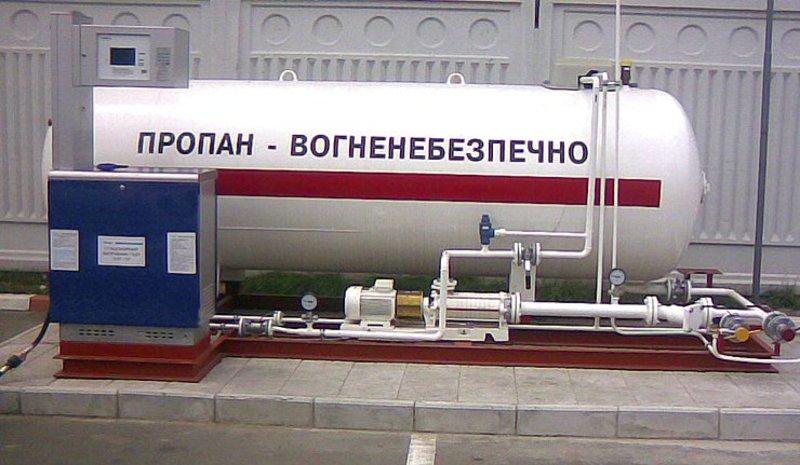 Вилучили стиснутого природного газу у кількості 10000 кубічних метрів