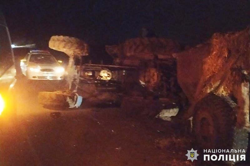 Аварія сталася на автодорозі між Волочиськом та селом Поляни