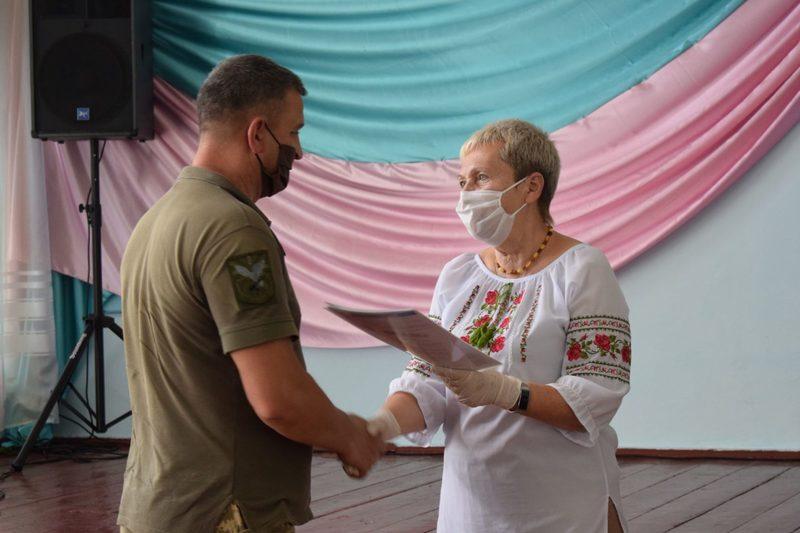 Бійці отримали свої дипломи