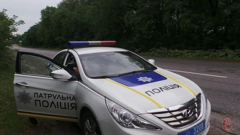 Ще одну дорогу області контролює дорожній патруль