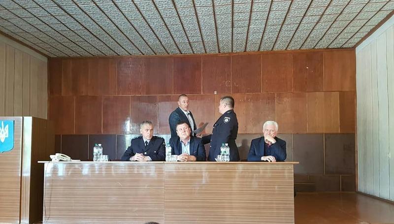У Славуті новий керівник поліції