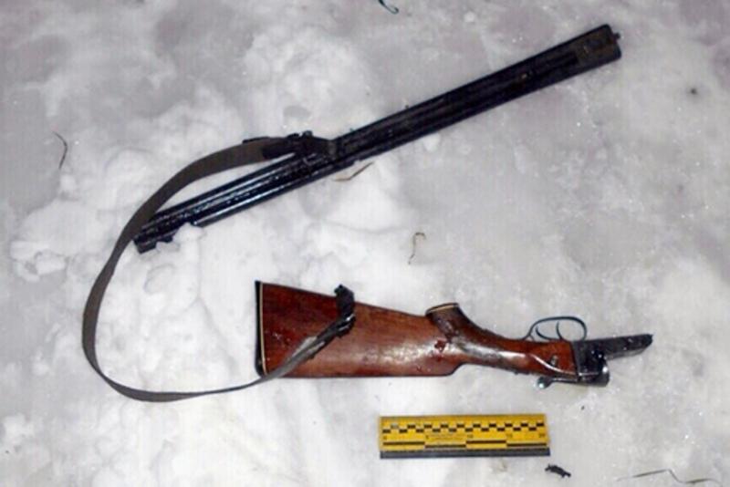 Зловмисників затримали по «гарячих слідах», а рушницю вилучили