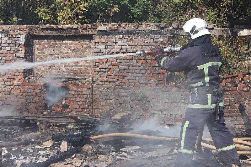 Всього до гасіння пожежі було залучено 3 одиниці пожежно-рятувальної техніки ДСНС та 9 рятувальників, а також 2 автоцистерни підрозділів місцевих пожежних команд та 4 вогнеборців