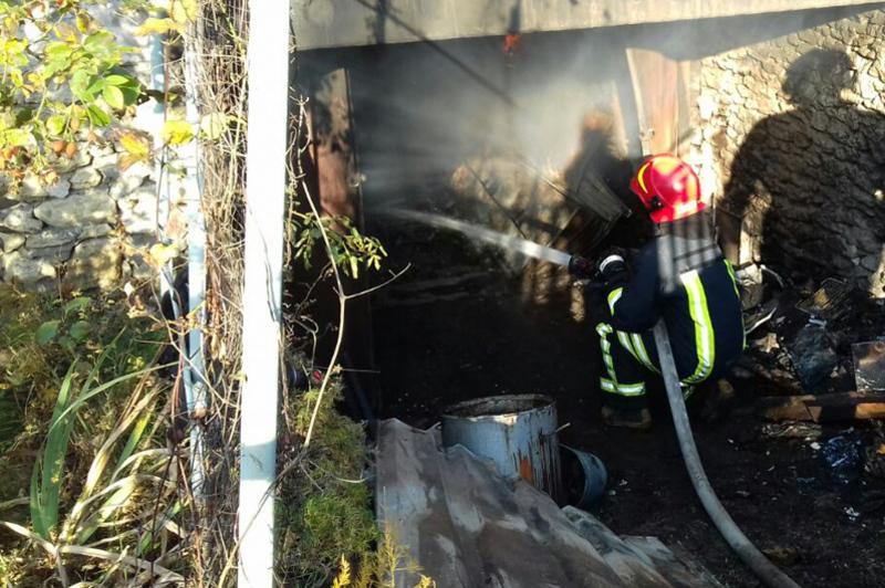 Пожежі сталися в Ярмолинецькому та Дунаєвецькому районах