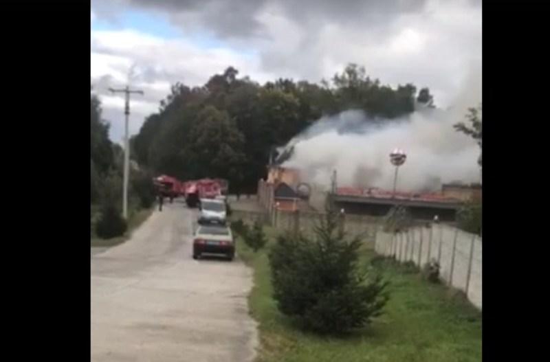 Пожежа сталася у селі Старий Кривин