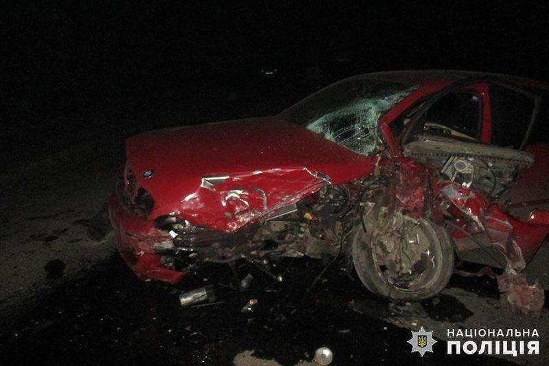 Аварія сталася в Білогірському районі