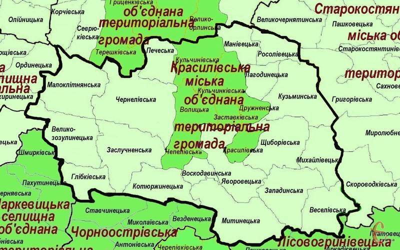 Громада, яку планують створити із центром у селі Заслучне, не відповідає перспективному плану