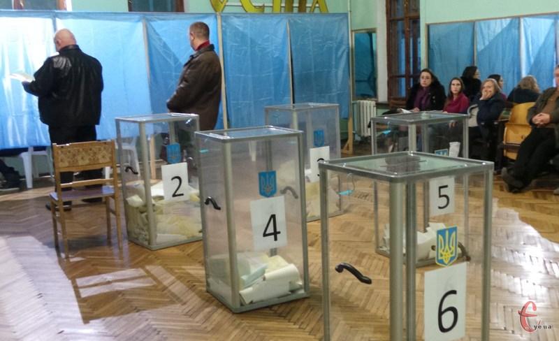 Найбільш активними були виборці Білогірського району