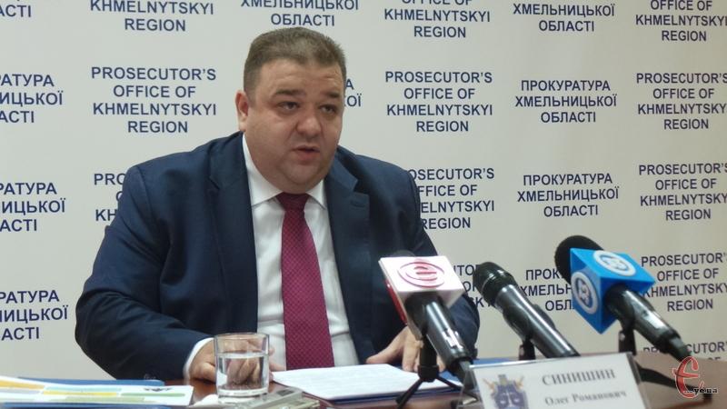 Прокурор під час брифінгу розповів про ситуацію із порубкою лісів області