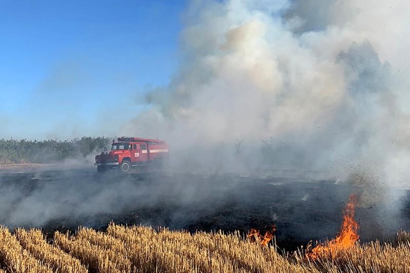 На Хмельниччині кількість пожеж, якщо порівнювати з минулим роком, зросла на 26%