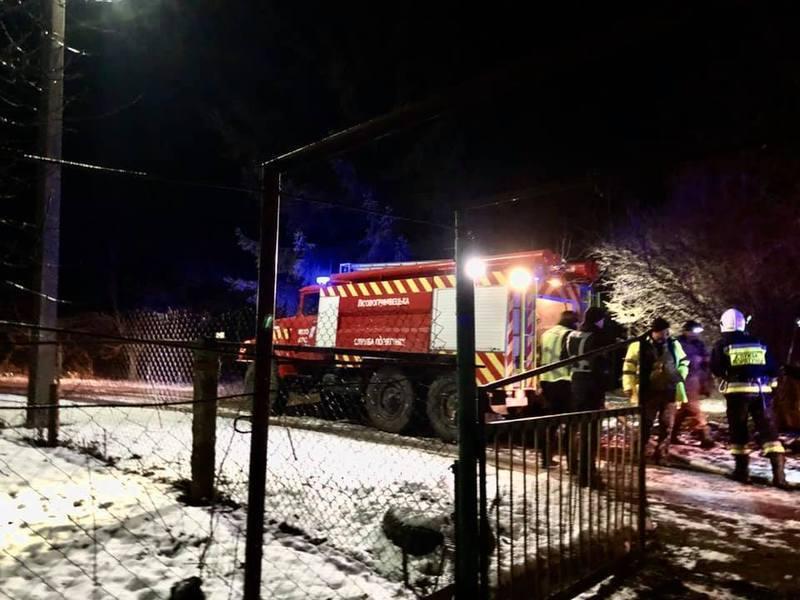 Гасили пожежу і в селі Печеськи Хмельницького району. Обійшлося без жертв