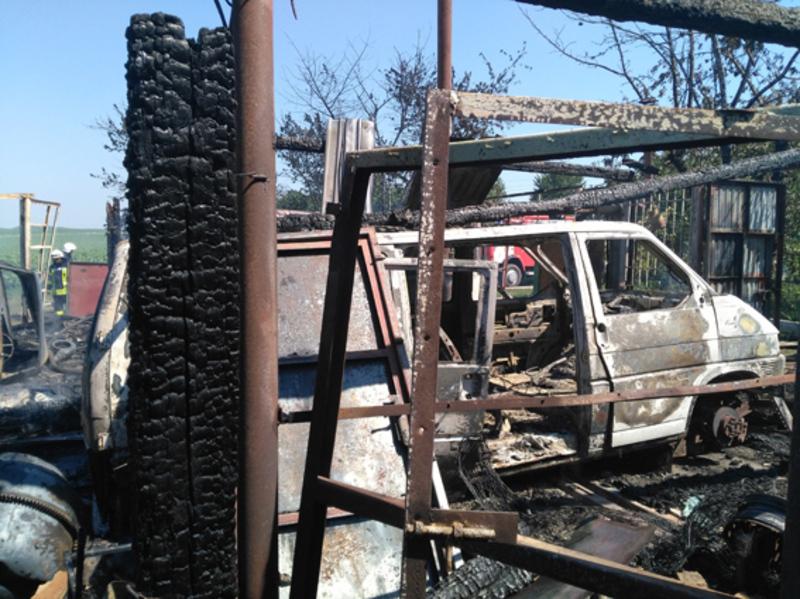 Нещасних випадків на пожежі не було.