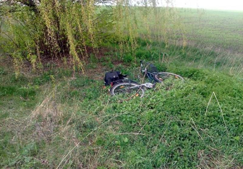 55-річна жінка везла на велосипеді пенсію селянам