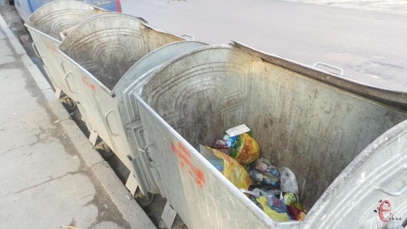 У деяких містах області сміття потрапляє на переповнені полігони