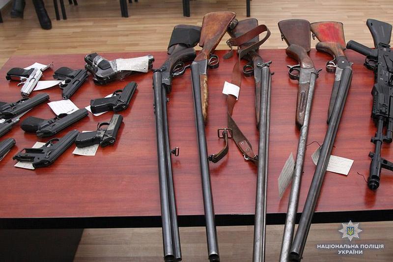 В облсті стартує місячник добровільної здачі зброї, боєприпасів та вибухівки
