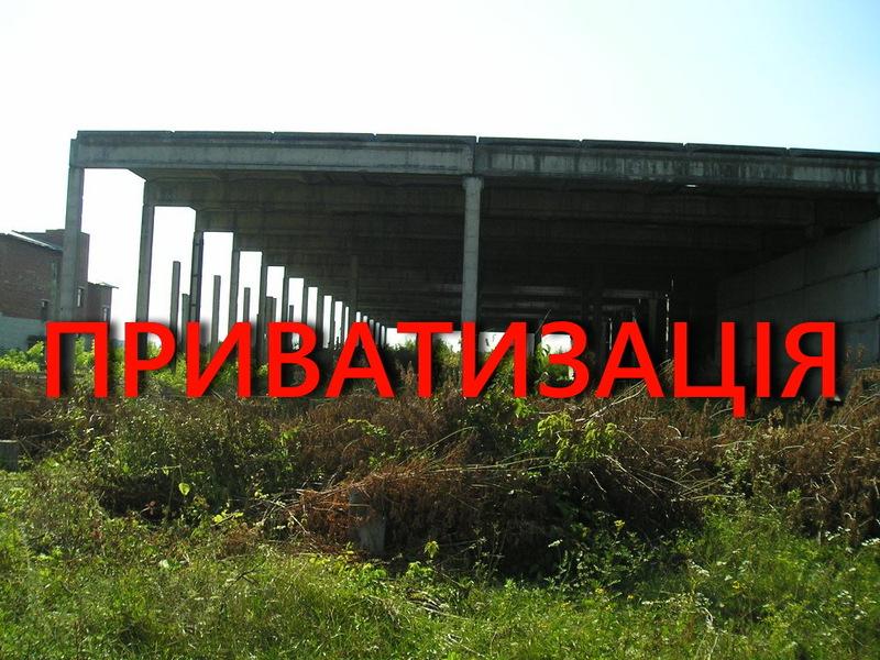 Недобудовану споруду лікеро-горілчаного заводу в Кам'янці-Подільському цьогоріч продали за 3,5 мільйона гривень