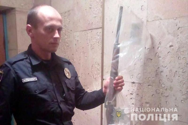 Рушницю вилучили правоохоронці
