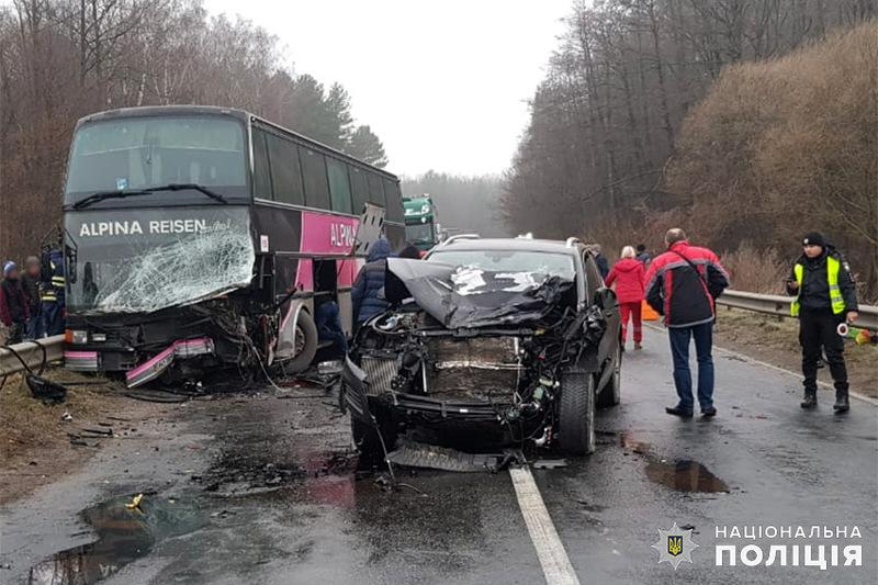 В автобусі перебувало пів сотні пасажирів