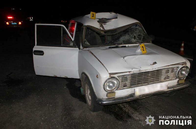 Аварія сталася поблизу села Правдівка Ярмолинецького району